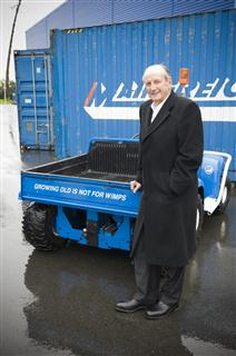 Retireing Mainfreight Director Don Rowlands