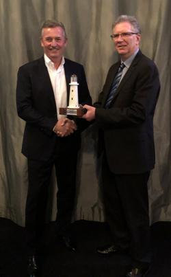 Don Braid awarded the 2018 New Zealand Shareholders' Association Beacon Award